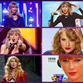 Beautiful Blue Eyes of Taylor Swift(11165) Collage