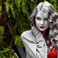 Beautiful Blue Eyes of Taylor Swift(11167)