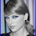 Beautiful Blue Eyes of Taylor Swift(11177)