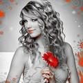 Beautiful Blue Eyes of Taylor Swift(11207)