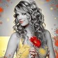 Beautiful Blue Eyes of Taylor Swift(11208)