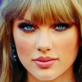 Beautiful Blue Eyes of Taylor Swift(11219)