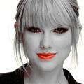Beautiful Blue Eyes of Taylor Swift(11224)