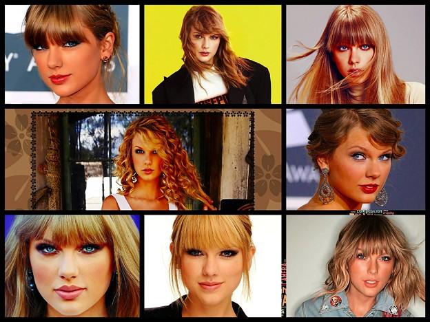 Beautiful Blue Eyes of Taylor Swift(11225)