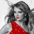 Beautiful Blue Eyes of Taylor Swift(11226)
