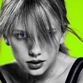 Beautiful Blue Eyes of Taylor Swift(11232)