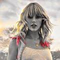 Beautiful Blue Eyes of Taylor Swift(11236)