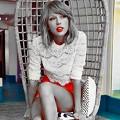 Beautiful Blue Eyes of Taylor Swift(11238)