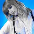Beautiful Blue Eyes of Taylor Swift(11242)