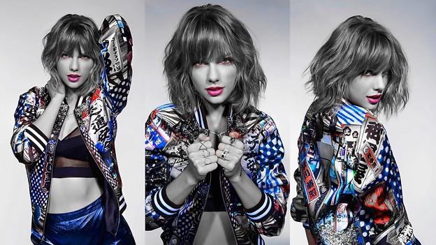 Beautiful Blue Eyes of Taylor Swift(11245)