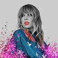 Beautiful Blue Eyes of Taylor Swift(11246)