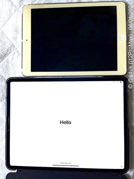 """Hello""^^6.1(Arrive5.27)Start of New""iPad Pro 5th Gen 12.9""[M1,XDR,8GB..]""thanks""7years iPadAir 1st"""