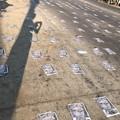 Photos: ミャンマーデモ隊の道路封鎖 (7)