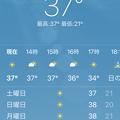 3月5日は37度