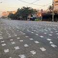 Photos: 道路に障害物 (2)
