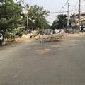 Photos: 道路封鎖 ヤンゴン (3)
