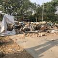 Photos: 道路封鎖 ヤンゴン (1)