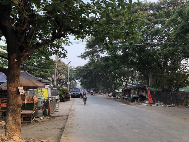 ヤンゴン 消えた路上のバリケード (5)