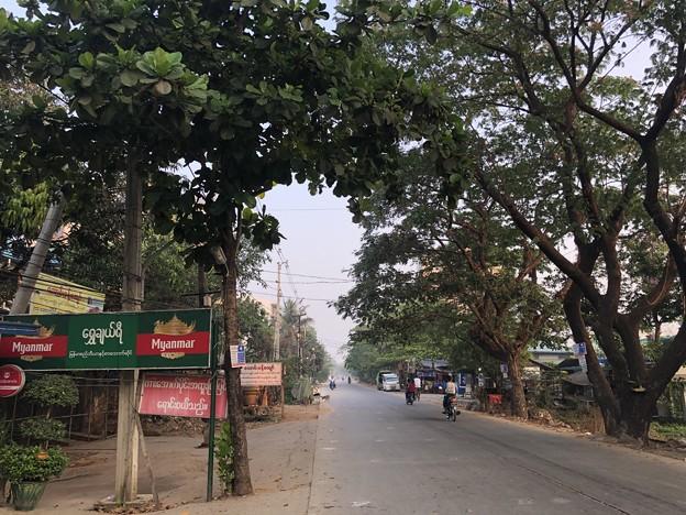 ヤンゴン 消えた路上のバリケード (4)