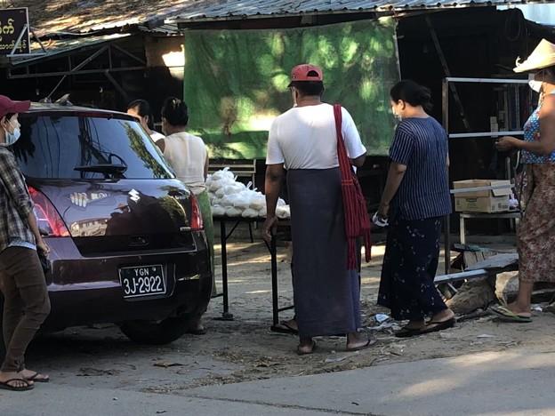 5月10日のヤンゴンの様子 (10)