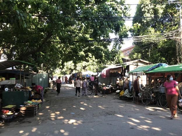 5月10日のヤンゴンの様子 (2)