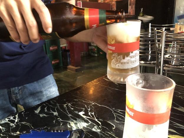 ミャンマービール (1)