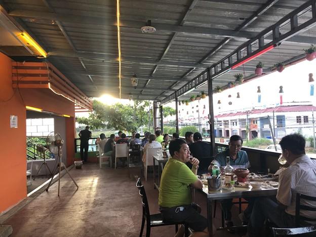 ヤンゴンの夕暮れとASAHI-7な7月3日 (7)