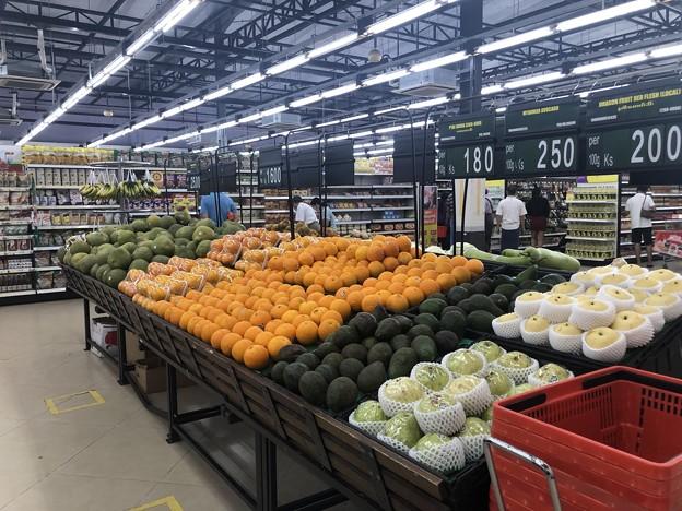 ヤンゴンのスーパーシティマートの今 (4)
