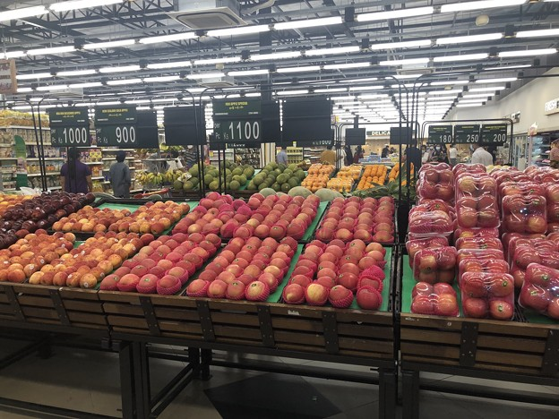 ヤンゴンのスーパーシティマートの今 (3)