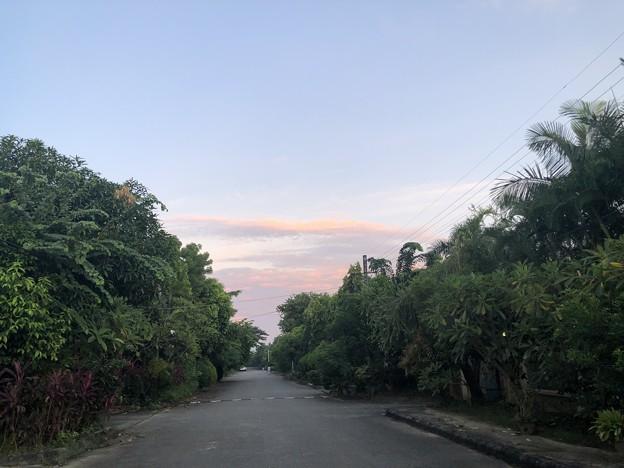 9月19日のヤンゴンの朝 (2)
