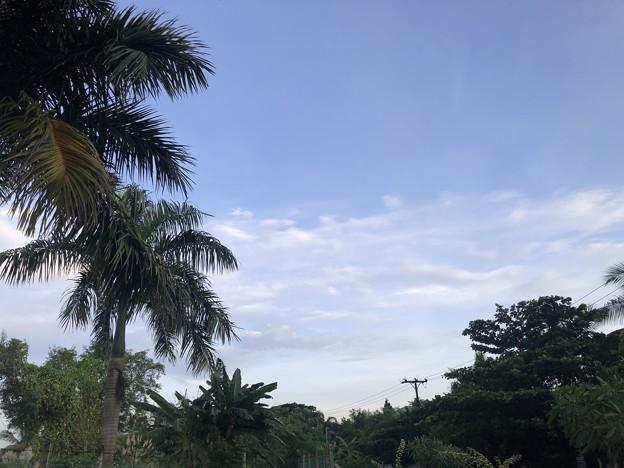 9月20日のヤンゴンの空 (1)
