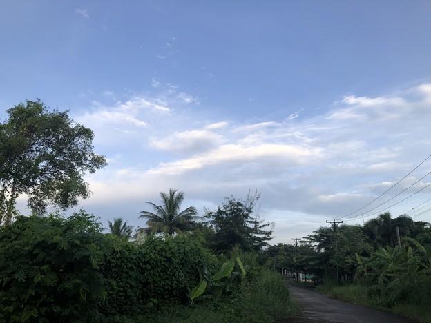 9月20日のヤンゴンの空 (2)