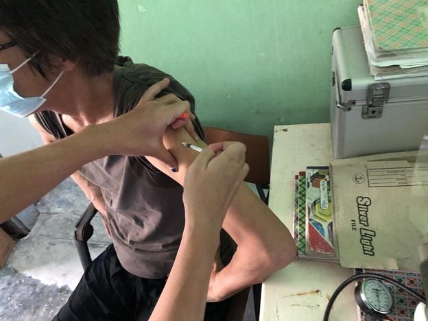 犬にかまれたので狂犬病ワクチン接種 (3)