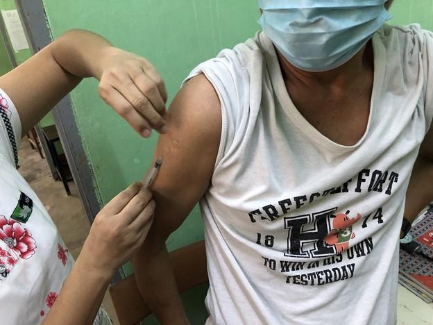 狂犬病予防接種の2回目のワクチン (2)