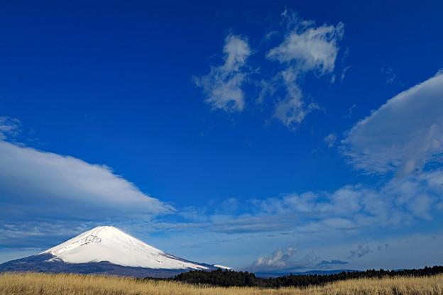 雪雲晴れて 全景