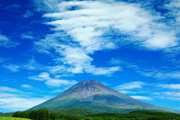 夏富士遠景