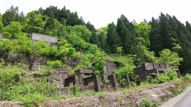 土倉鉱山施設跡