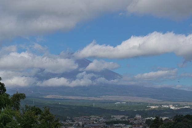 穏やかな秋の富士山