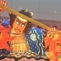 品川駅にて  ねぶた祭
