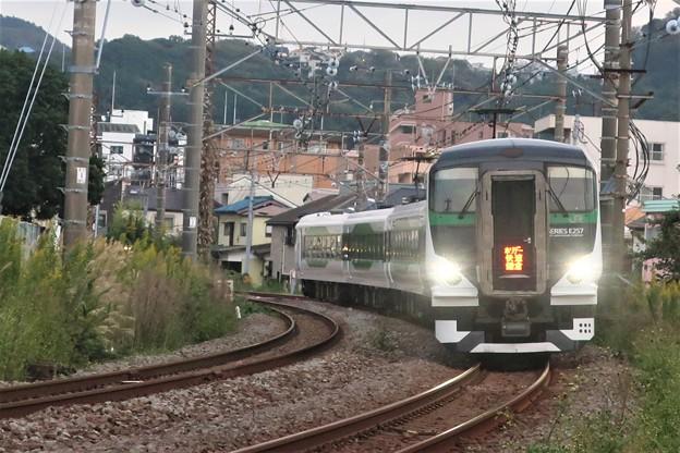 臨時電車~新宿踏切