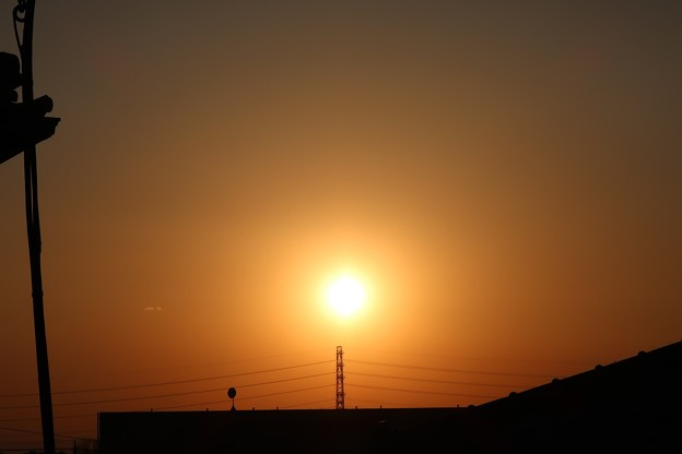Photos: 陽が落ちるとき