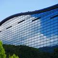 Photos: 空を映す九州国立博物館