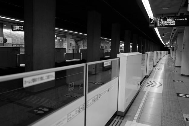 Photos: 無人地下鉄