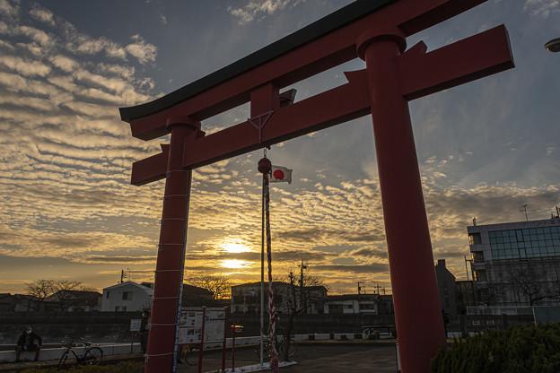 Photos: 旧穴守稲荷大鳥居 (1)