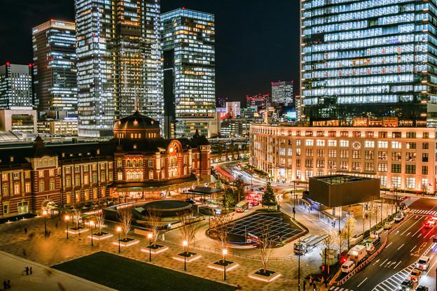 再現像「東京駅」
