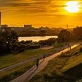 落日 (2)「秋分の日」