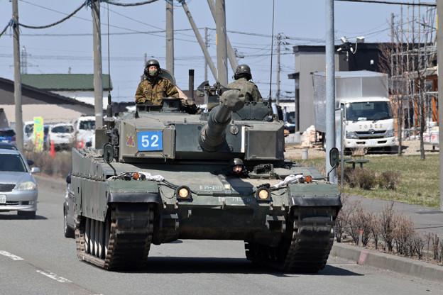 第73戦車連隊 90式戦車 C経路