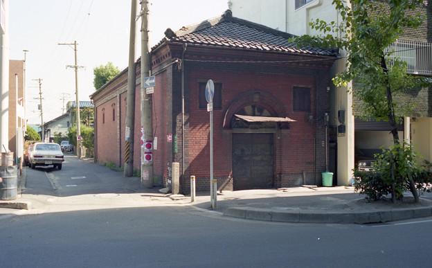 永代町の煉瓦建物