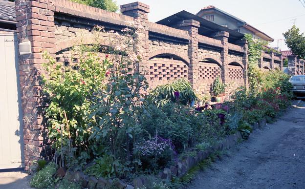 永代町の煉瓦塀