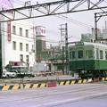 南海線堺駅前踏切